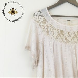 ✨ 3 for $30 Free People | Lace & Crochet Top